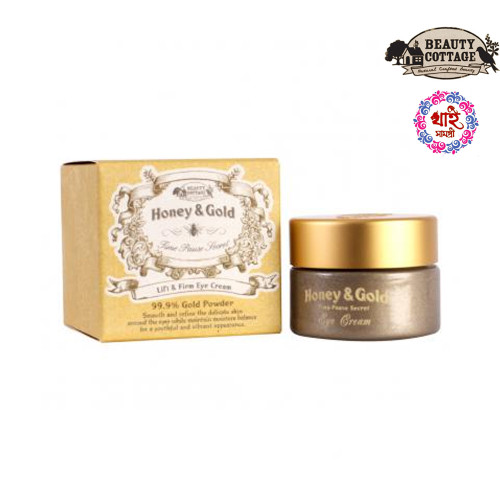 BEAUTY COTTAGE HONEY&GOLD TIME PAUSE SECRET LIFT & FIRM EYE CREAM (15 ML)
