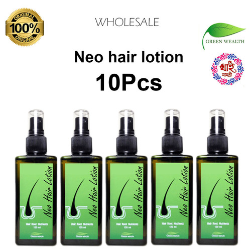 Neo hair ljotion 120ml 100% original wholesale 10 Pcs