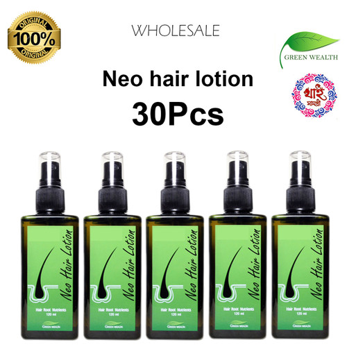 Neo hair lotion 120ml for new hair regrowth worldwide delivery 30Pcs