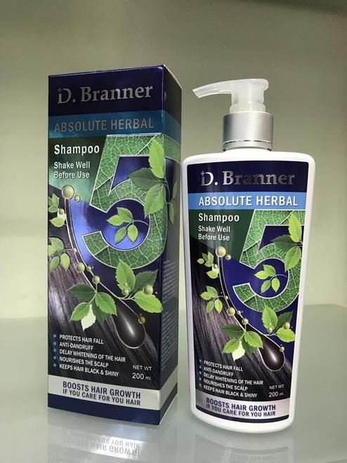 D.Branner Absolute Herbal Shampoo