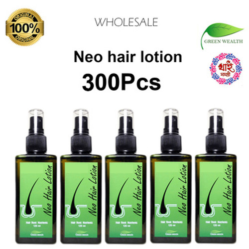 Original neo hair lotion no side effects hair growth oil 120ml worldwide wholesale 300pcs