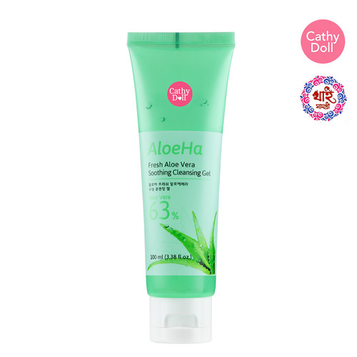 CATHY DOLL ALOE HA FRESH ALOE VERA SOOTHING CLEANSING GEL 100ML