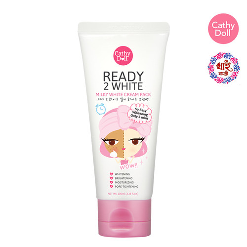 CATHY DOLL READY 2 WHITE MILKY WHITE CREAM PACK 100ML