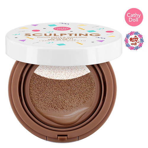 CATHY DOLL SCULPTING HIGHLIGHT AND SHADING CUSHION SPF50 PA+++ 10G