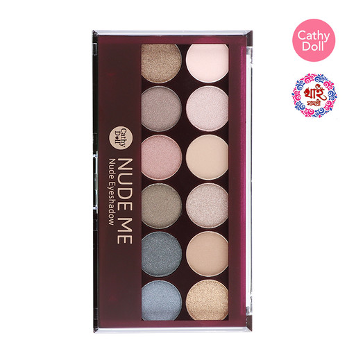 CATHY DOLL NUDE ME EYESHADOW 1G X 12COLORS