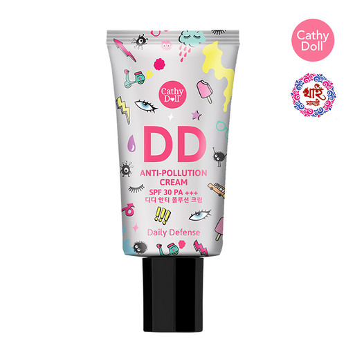 CATHY DOLL DD ANTI POLLUTION CREAM SPF30 PA+++ 50ML