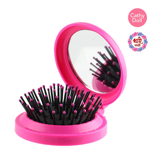 CATHY DOLL 2IN1 COMB & MIRROR