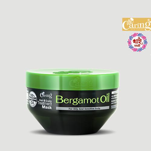 Caring Hair & Scalp Treatment Mask Bergamot Oil 200ml