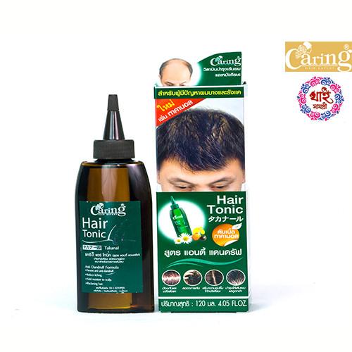 CARING Hair Tonic With Takanol ( Hair fall defense formula ) 120ml