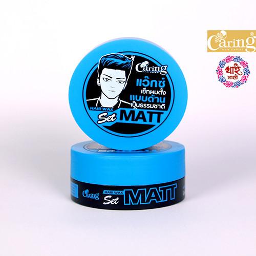 Caring Hair wax Set Spike (Blue) 75ml
