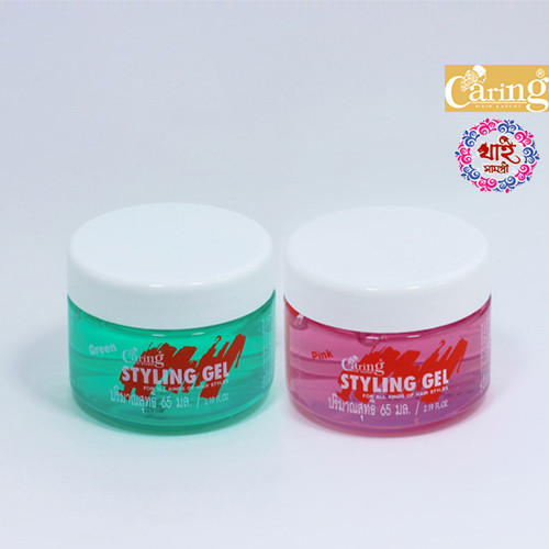 CARING STYLING GEL Pink & Green 100ml
