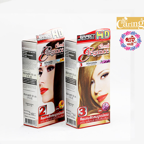 CARING ELEGANCE PERFECT HD hair color cream 50ml