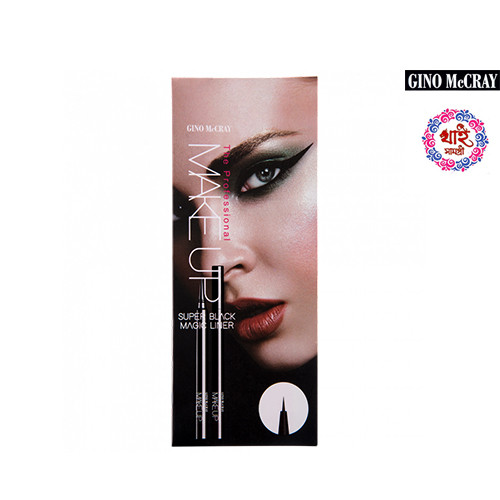 GINO McCRAY THE PROFESSIONAL MAKE UP SUPER BLACK MAGIC LINER 0.55g