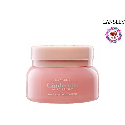 LANSLEY CINDERELLA AURA BRIGHT OVER NIGHT BODY CREAM 125g