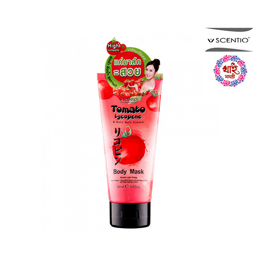 Scentio Tomato Lycopene & Nano Multi Vitamin Body Mask 150ml