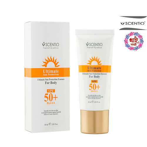 Scentio Ultimate Sun Protection Essence For Body SPF 50+ PA+++ 60ml