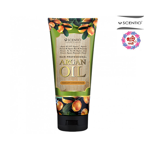 SCENTIO HAIR PROFESSIONAL ARGAN OIL THERAPY CONDITIONER 200ml