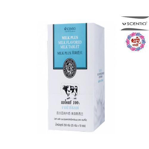 Scentio Milk Plus, granular flavored milk (box) 250g