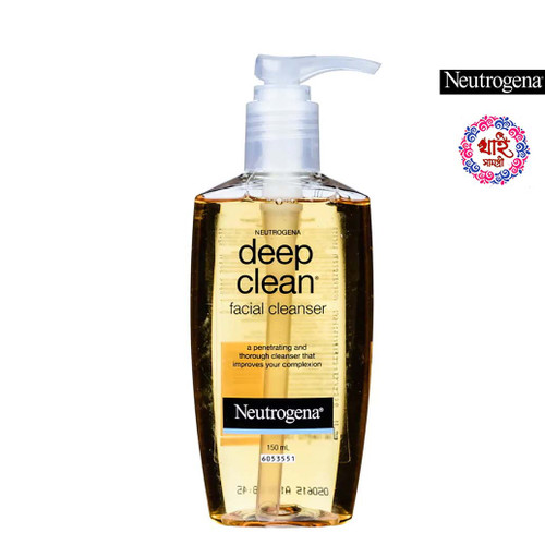 Neutrogena Deep Clean Facial Cleanser Liquid 150 ml.