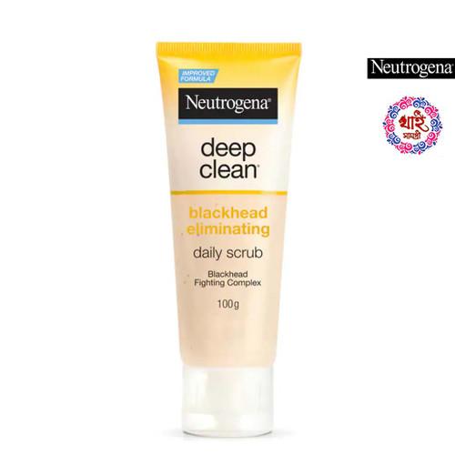 Neutrogena  Gina Deep Clean Blackhead Elegance Daily Scrub 100 g.