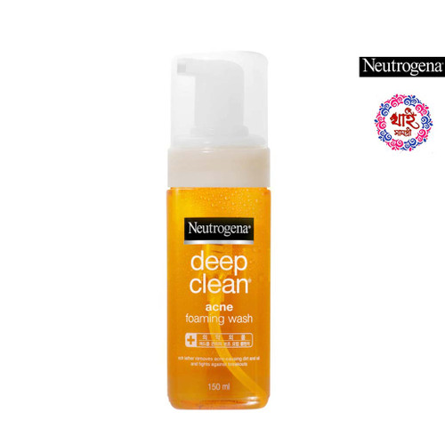 Neutrogena Deep Clean Acne Foaming Wash 150g