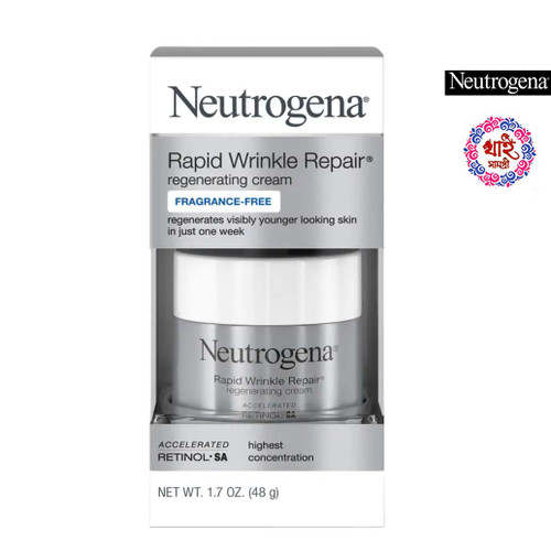 Neutrogena Rapid Wrinkle Repair Regenerating Cream Fragrance-Free 48 G.