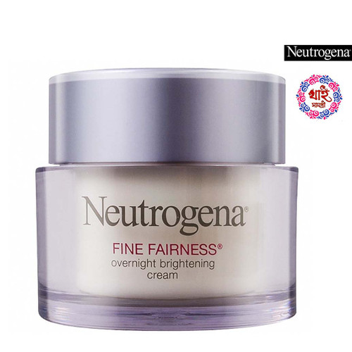 Neutrogena Fine Fairness Overnight Brightening Cream 50g