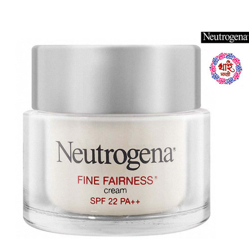Neutrogena Fine Fairness Cream SPF 22 PA ++ 50 g