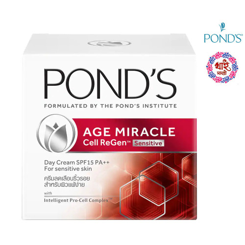 Pond's Age Miracle Cell Regen Sensitive SPF 15 50g