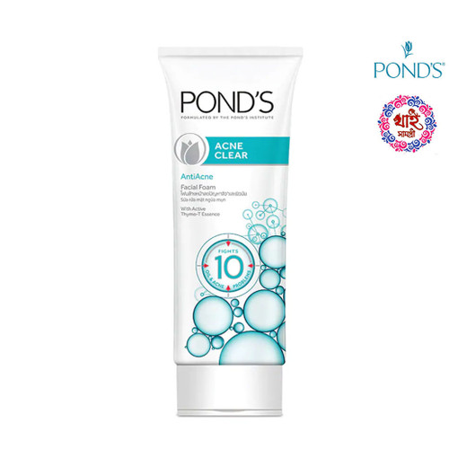 Pond's Acne Clear AntiAcne Facial Foam 100g