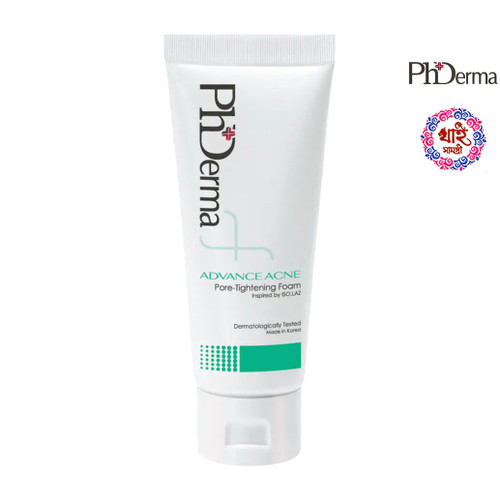 PhDerma Advanced Acne Pore-Tightening Foam 100ml