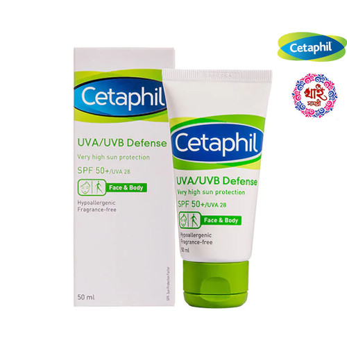 Cetaphil UVA / UVB Defense SPF 50 + / UVA 50 ml