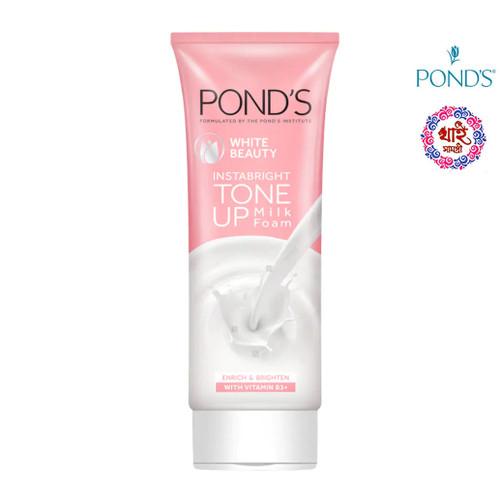 Ponds White Beauty Inn Bright Tone Up Milk Foam 100 g.