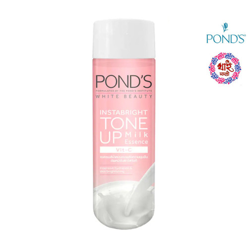 Ponds White Beauty Inn Bright Tone Up Milk Essence Whit-C 100 ml.