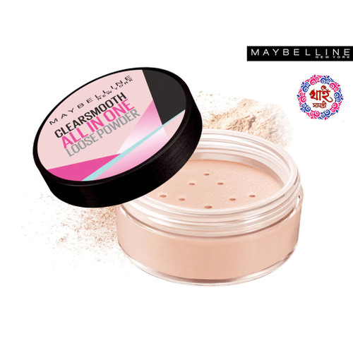 Maybelline Clearsmooth All In One Loose Powder - Natural