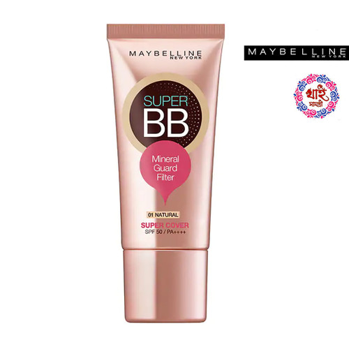 Maybelline New York Super Cup BBS PF 50 PA ++++ # 01 Natural 30 ml.