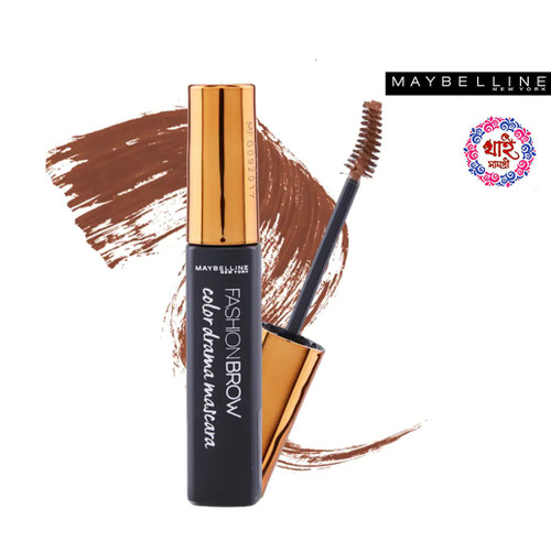 Maybelline Fashion Brow Color Drama Mascara - Natural Brown