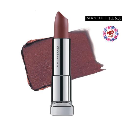 Maybelline New York Lipstick Int-Matt Nude Color Collection MNU 13 Walnut 3.9 g
