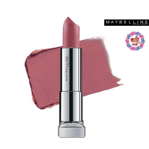 Maybelline New York Lipstick Int-Matt Nude Color Collection MNU 14 Almond Pink 3.9 g