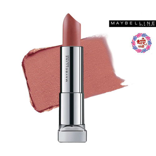 Maybelline New York Lipstick Int-Matt Nude Color Collection MNU 11 Toast Brown 3.9 g