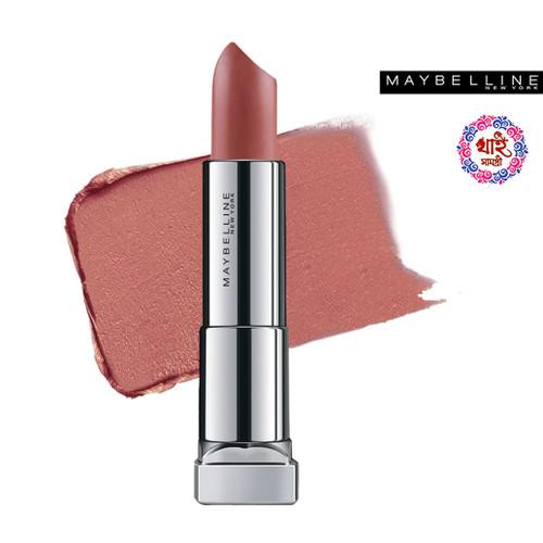 Maybelline New York Lipstick Int-Matt Nude Color Collection MNU 12 Raw Cocoa 3.9 g