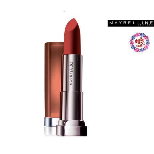 Maybelline New York Lipstick Int-Matt Nude Color Collection MNU 09 Chili Nude 3.9 g