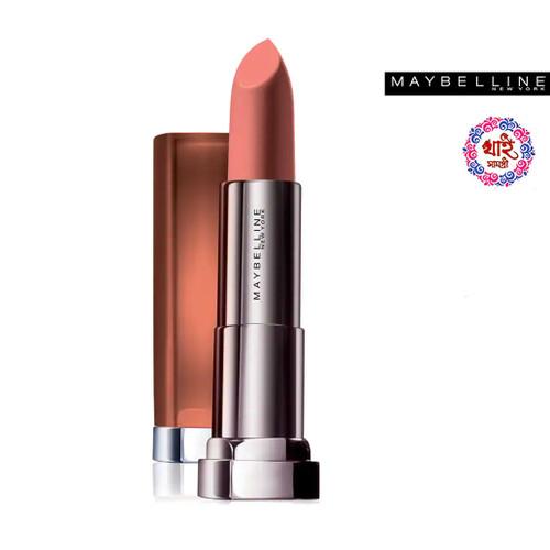 Maybelline New York Lipstick Int-Matt Nude Color Collection MNU 10 Jasmine Tesser 3.9 g