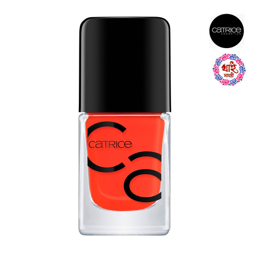 Katriss Icon Nels Gel Lacquer 10.5 ml. # 46 Work Hard, Play Orange