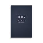 Blue Paperback Bible