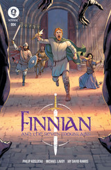 Cover Page for Finnian and the Seven Mountains #4
