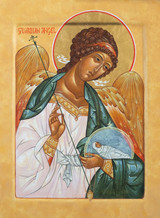 Guardian Angel Orthodox Icon Print
