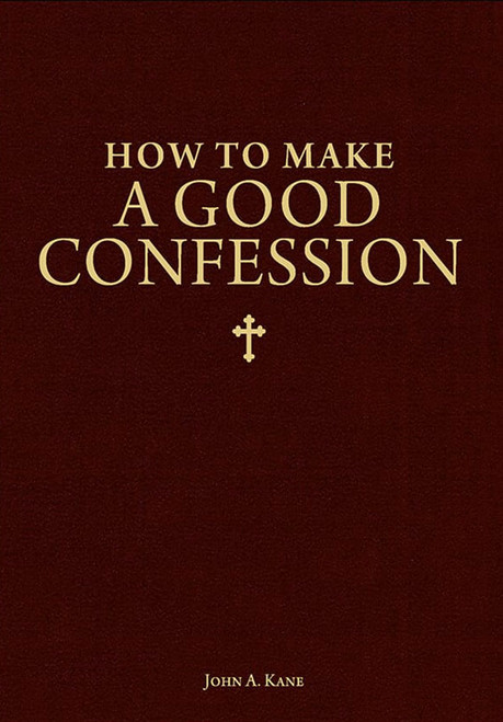 How to Make a Good Confession - Pamphlet (50 Pack)