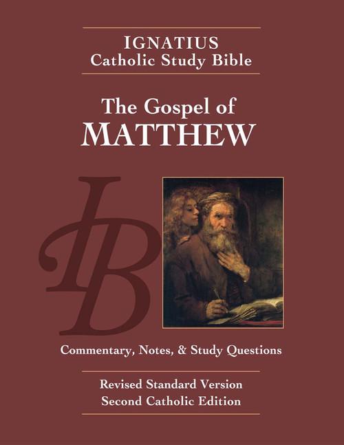 The Gospel of Matthew Study Bible