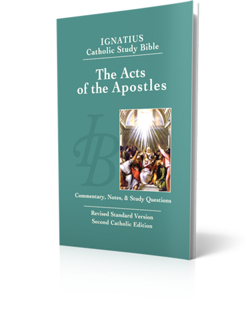 The Acts of the Apostles - Study Bible (Paperback)